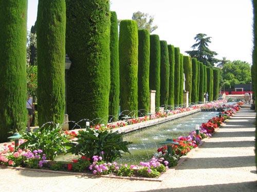 Reportaje de Fotos de Boda en los Jardines del Alcázar de Córdoba